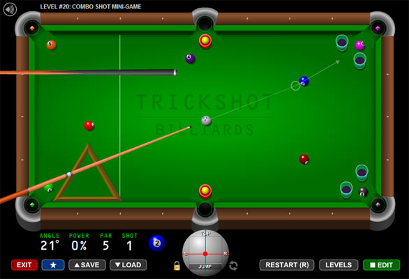 online billiard games