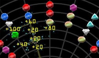 Gem Collect Puzzle Flash Game